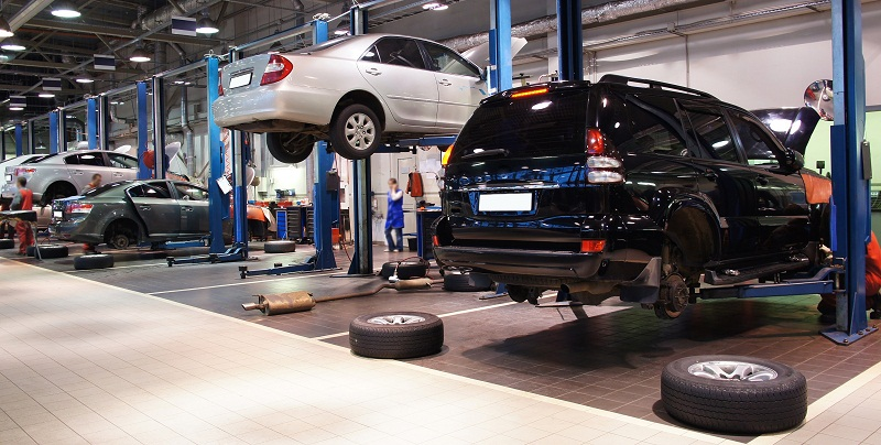 Vehicle Repair Centers