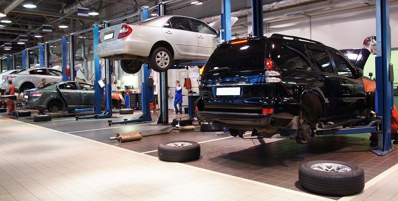 Vehicle Repair Centers