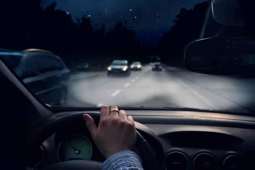 Safe Driving Evening